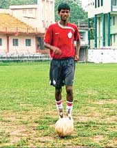 Samblapur teen Rakesh Oram in national junior football team